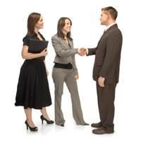 Meeting Business People
